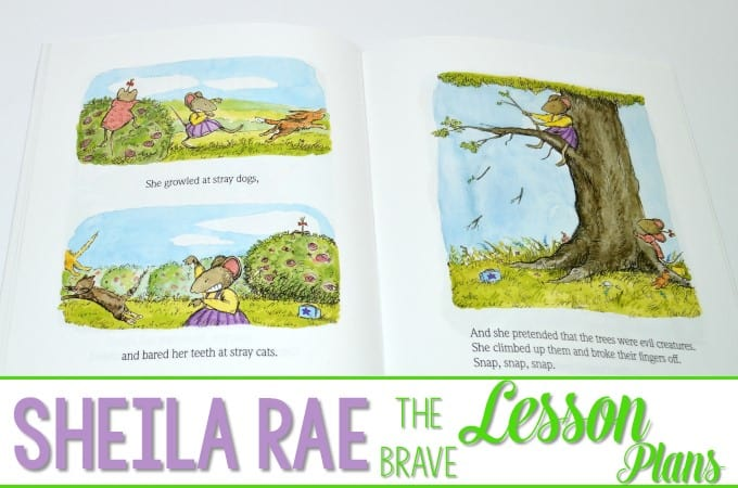 Sheila Rae the Brave Lesson Plans