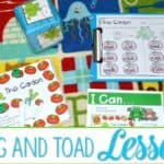 Frog and Toad Lesson Plans