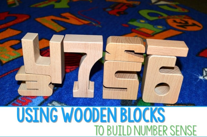 Use Wooden Blocks to Teach Number Sense!