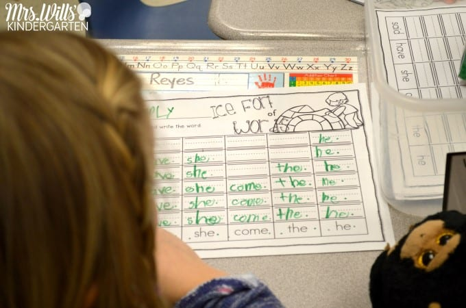 Mastering Sight Words Centers with these four activities! Students build high-frequency word fluency with these fun kindergarten stations. Editable so you can add your OWN words... FREE resources included.