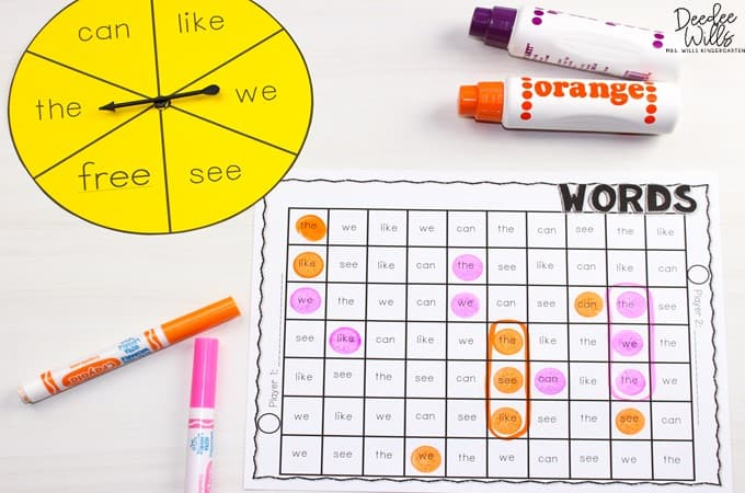 5 Mastering Sight Words Centers for Kindergarten | Plus a Free Sample! 8