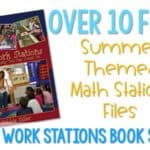 Math Work Stations Throwback! (Tons of FREE Goodies)