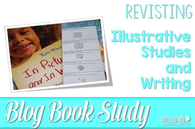 Illustrative Studies Book Study is revisited. See how we use mentor texts to help emergent kindergarteners learn to write. Ideas for writers workshop and writing lessons using picture books!