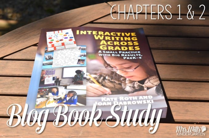 Interactive Writing Book Study Ch 1 & 2