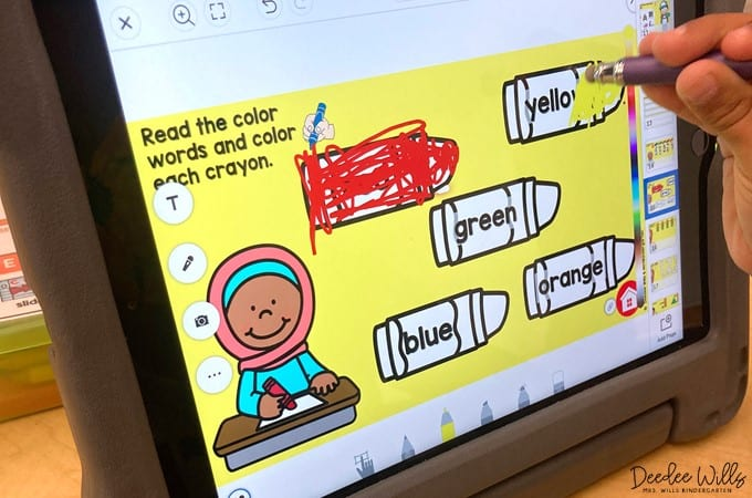Seesaw Back to School Centers