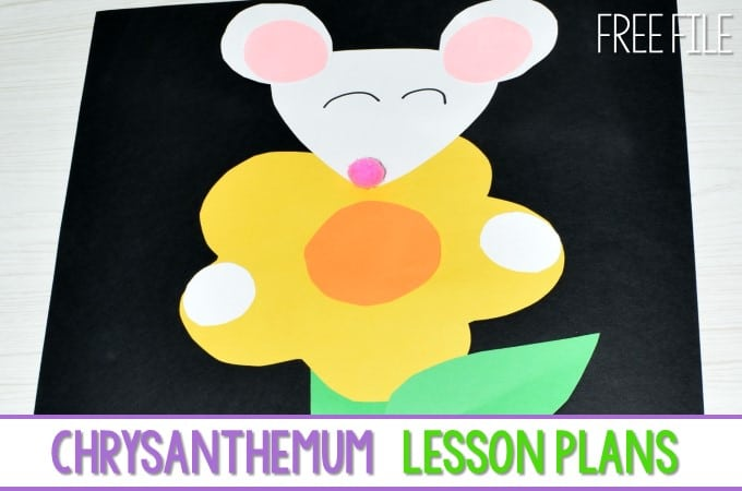 Chrysanthemum Lesson Plans (Free File)