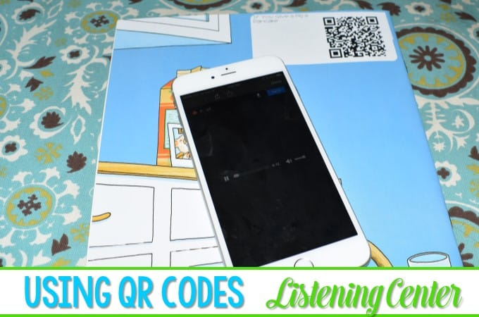 Listening to Reading with QR Codes (AKA: That time I felt techie)