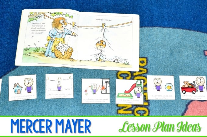 Mercer Mayer ~ I Was So Mad Lesson Plans