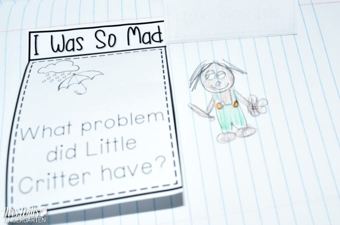 Mercer Mayer Lesson Plans featuring the book I Was So Mad. I have collected some reading, writing, math, and literacy ideas for your kindergarten classroom. STEM activity is also here for you!