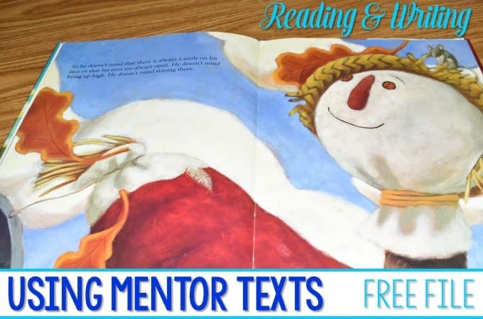 Using Mentor Texts in Kindergarten