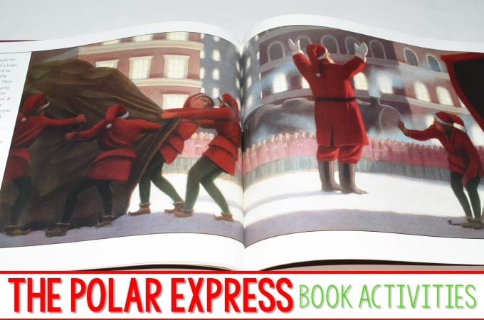 Polar Express Activities for Kindergarten and First Grade
