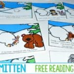 The Mitten Reading Comprehension FUN! (psst… FREE unit)