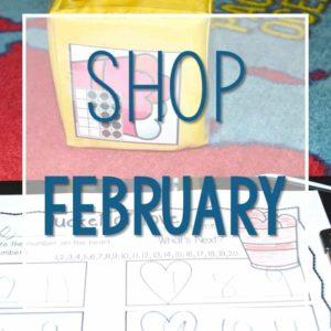 Shop February