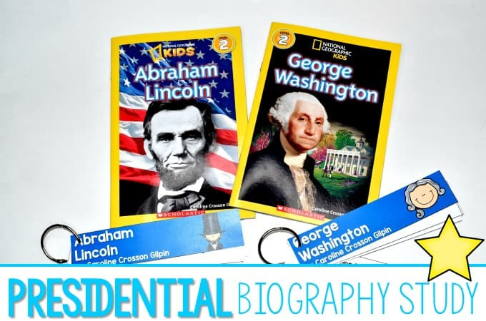 President's Day Biography Unit of Study