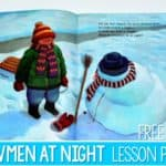 Snowmen at Night Lesson Plans (Free Activity TOO!)