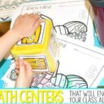 12 Math Center Activities That Will Engage Your Class ALL Year! (Free File)