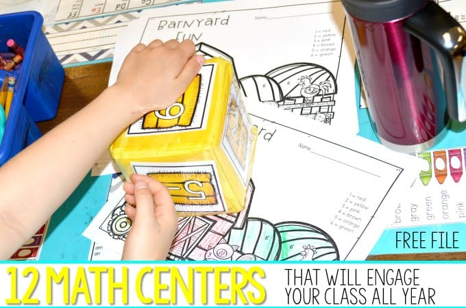 Kindergarten Math Center