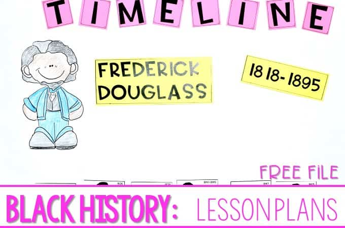 Teaching Black History Month (free file)