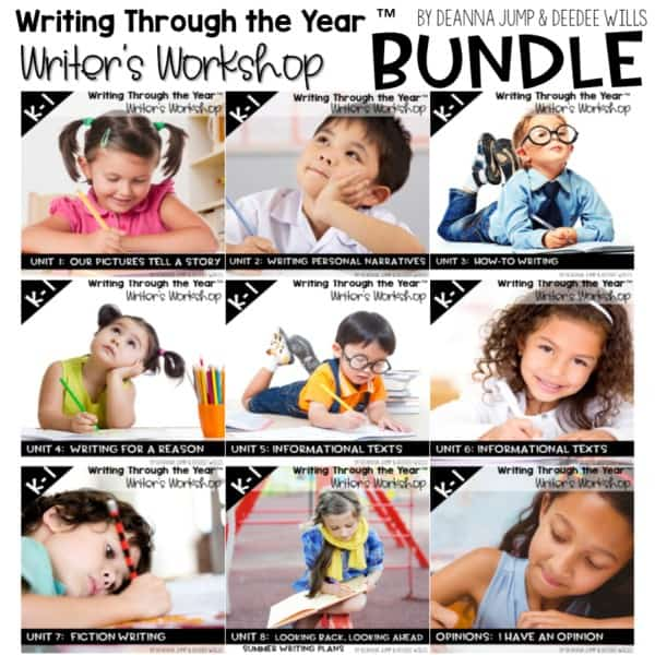Writing Through the Year (Writers Workshop) 1