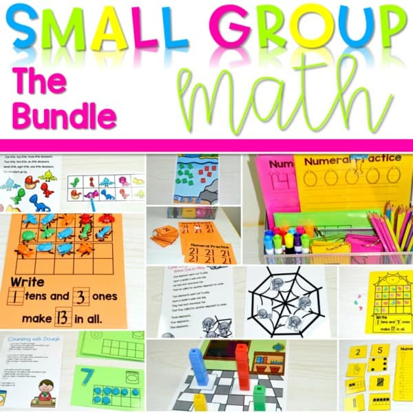 Small Group Math Bundle