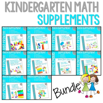 Kindergarten Math Supplemental Bundle 1