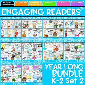 Engaging Readers Bundle K-2 Set 2 2