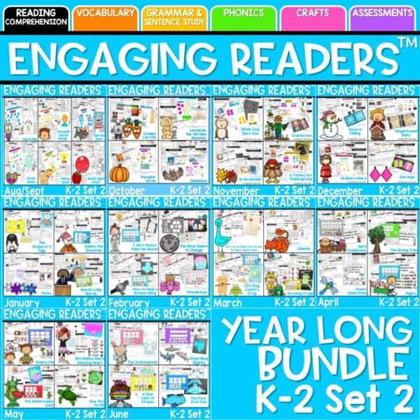 Engaging Readers Bundle K-2 Set 2 1