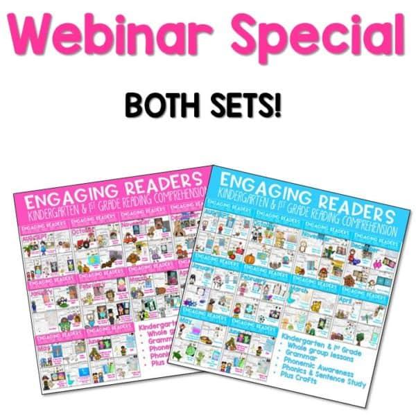 Engaging Readers WEBINAR Special Set 1 & 2 1