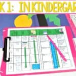 Kindergarten Lesson Plans – Week 1 (free file) Chicka Chicka Boom Boom
