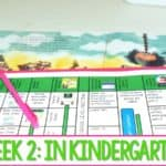Kindergarten Lesson Plans – Week 2 Stand Tall Molly Lou Melon