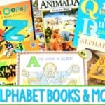 7 Alphabet Books for Kindergarten and a FREE file TOO!