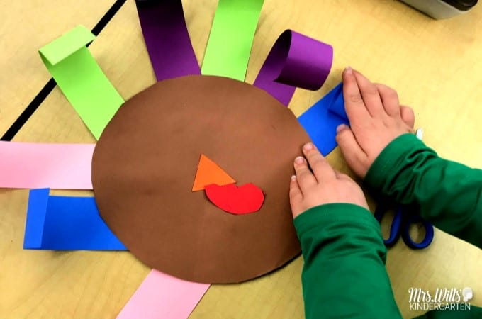 Thanksgiving Activities for Kids in Kindergarten and First Grade. Crafts, centers, and fun ideas for your classroom. A Turkey for Thanksgiving reading response too!