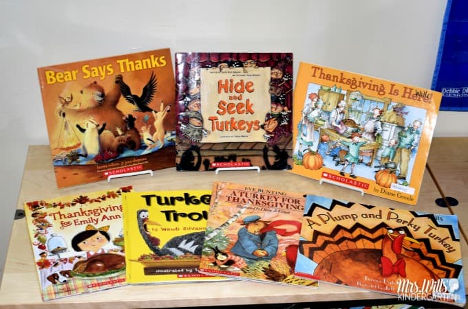 A Turkey for Thanksgiving reading comprehension lesson plans. Students have fun responding to literature and creating crafts that go along with this Thanksgiving story. Check out some center ideas, too!