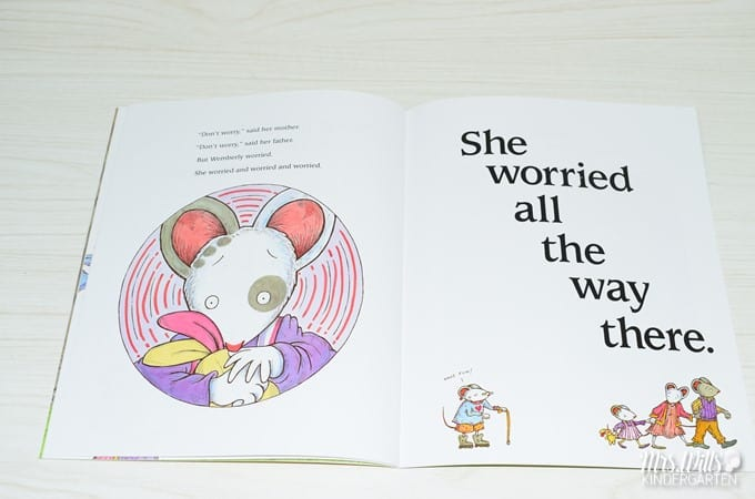 Wemberly Worried Read Aloud Lesson Ideas. These activities for Wemberly Worried will be a big hit in your kindergarten or first-grade classroom. Reading comprehension questions and response activities. Even a could of fun Wemberly Worried crafts! Check it out!