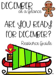 December Curriculum Guide