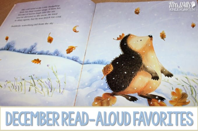 December Read Aloud Favorites For Kindergarten And First Grade