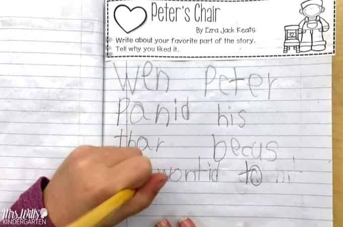 Ezra Jack Keats Peter's Chair Lesson