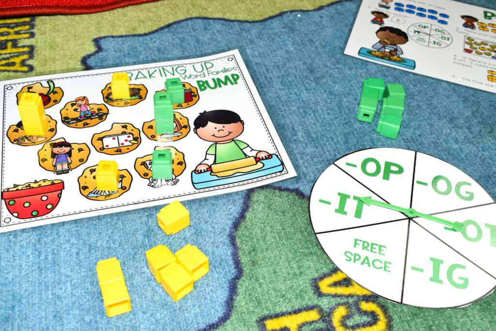 BUMP Games Monthly Math and Literacy BUNDLE 6