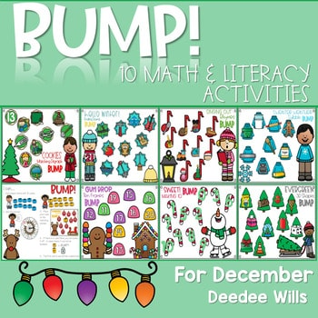 BUMP Games Monthly Math and Literacy Kindergarten | DECEMBER 1