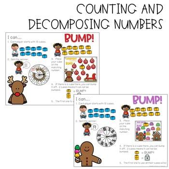 BUMP Games Monthly Math and Literacy Kindergarten | DECEMBER 4