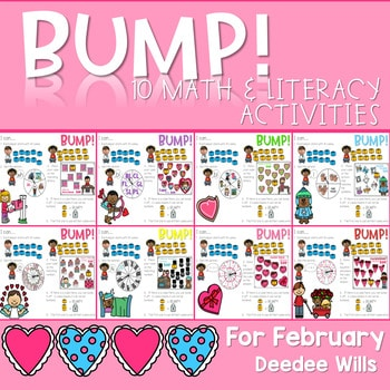 BUMP Games Monthly Math and Literacy February 1
