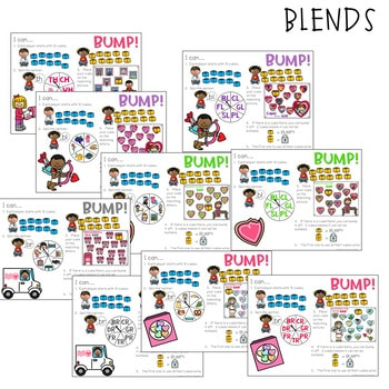 BUMP Games Monthly Math and Literacy February 2