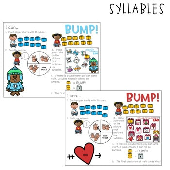 BUMP Games Monthly Math and Literacy February 3