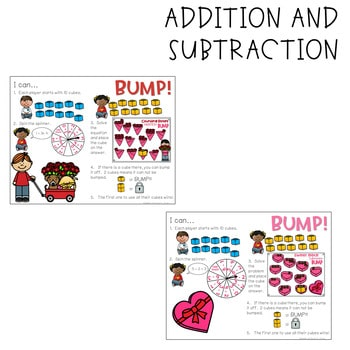 BUMP Games Monthly Math and Literacy February 4
