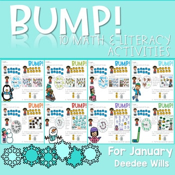 BUMP Games Monthly Math and Literacy JANUARY 1