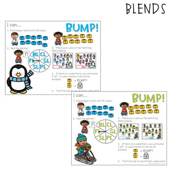 BUMP Games Monthly Math and Literacy JANUARY 2