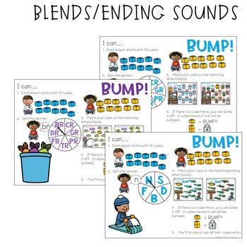 BUMP Games Monthly Math and Literacy JANUARY 3