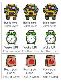 Back to School ABC Game ~ editable 2