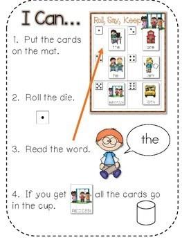 Back to School Alphabet Roll, Say, Keep ~ editable 2