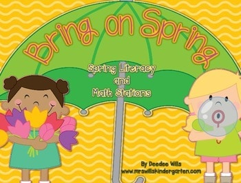 Bring on Spring!-Common Core Math and Literacy Activities 1